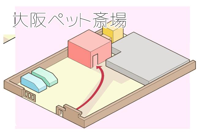 大阪斎場全体